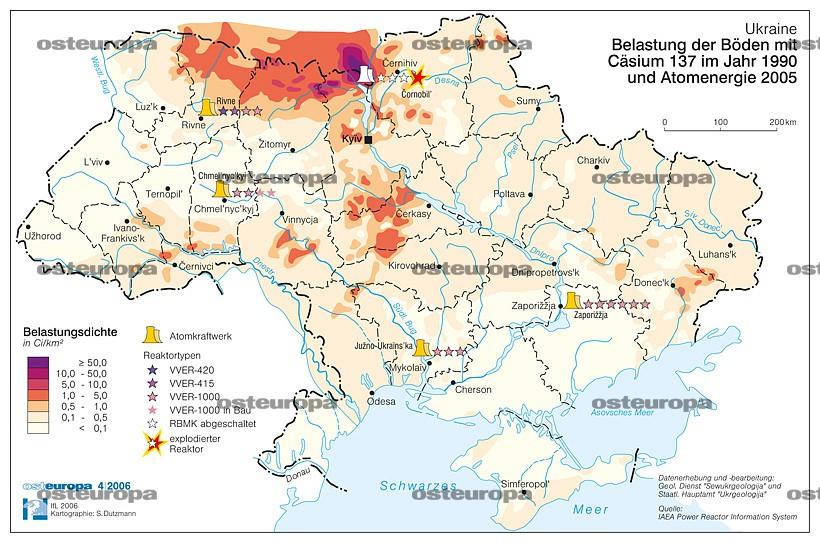 Tschernobyl Karte.Zeitschrift Osteuropa Osteuropa 4 2006