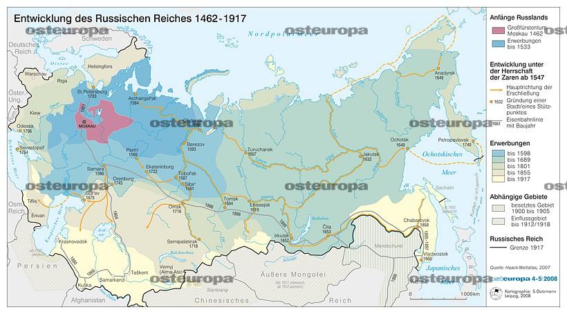 Karte Deutsches Reich 1914.Zeitschrift Osteuropa Historische Karten