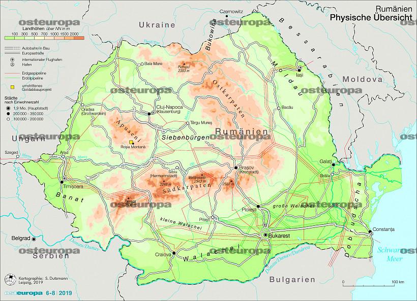 Zeitschrift Osteuropa Rumanien