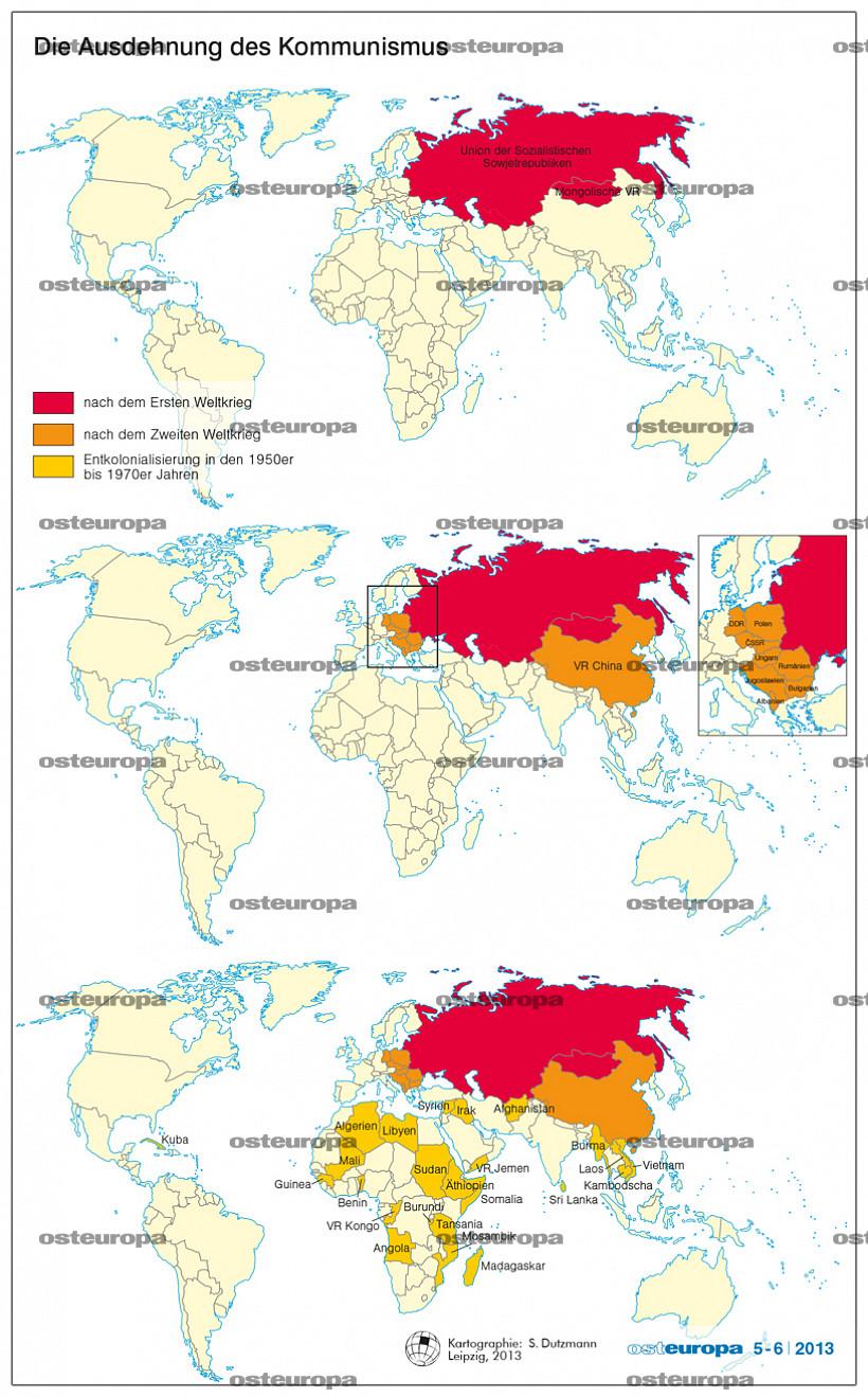 Kommunismus Länder